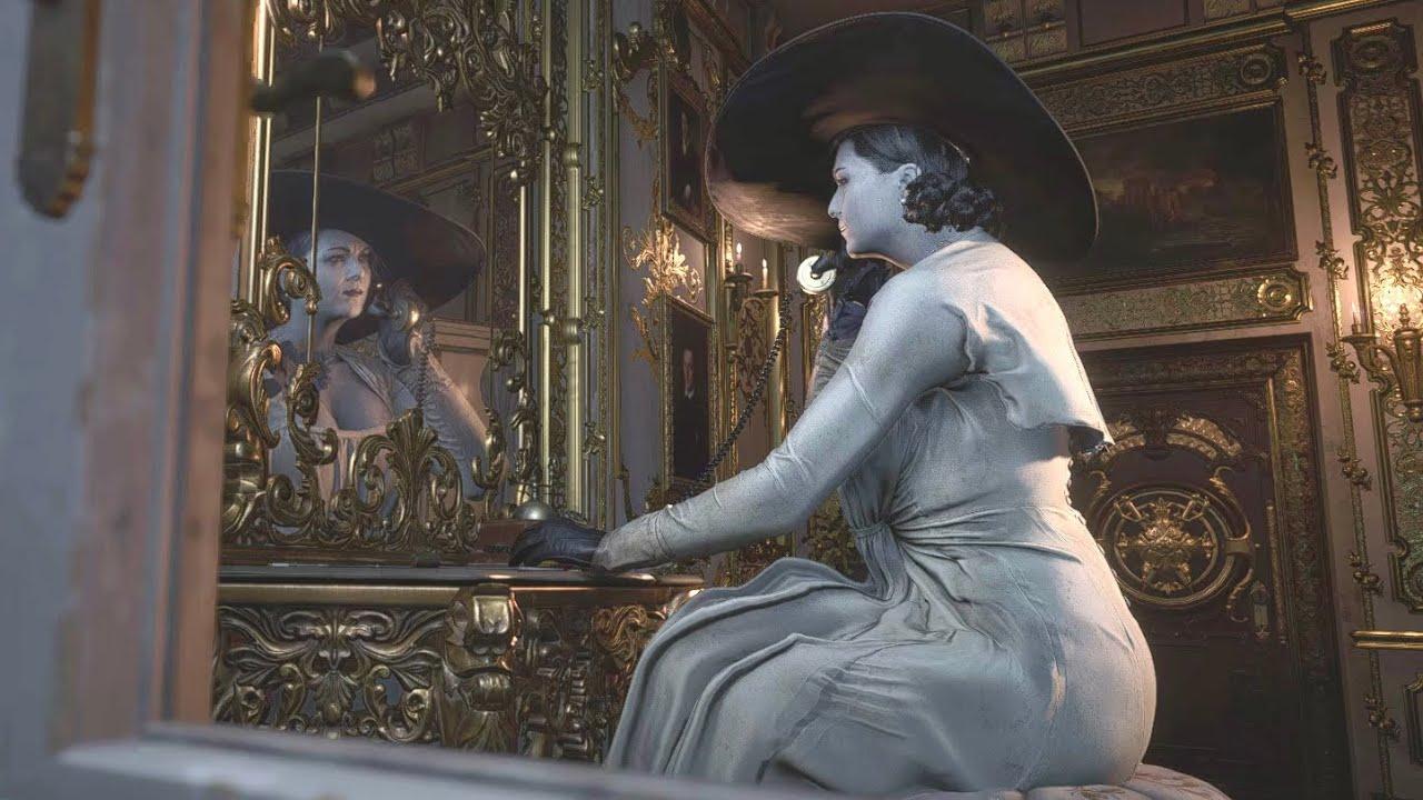 lady dimitrescu phone, Resident Evil Village