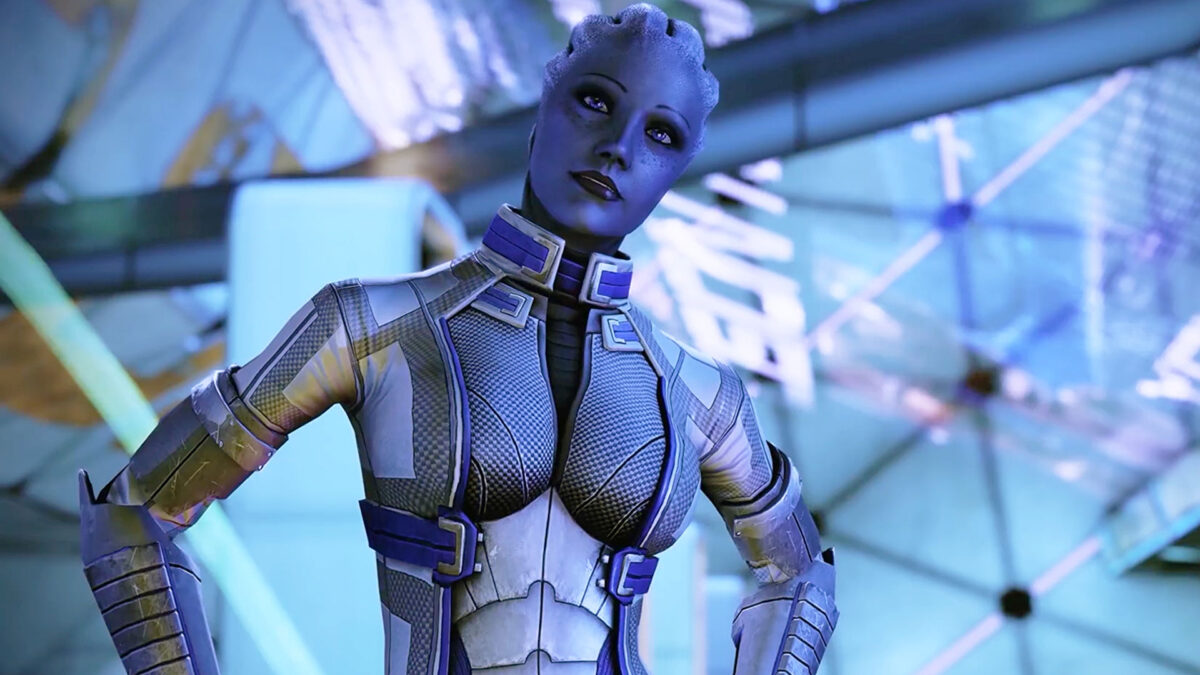 Mass Effect 3 Who Is Liara's Father