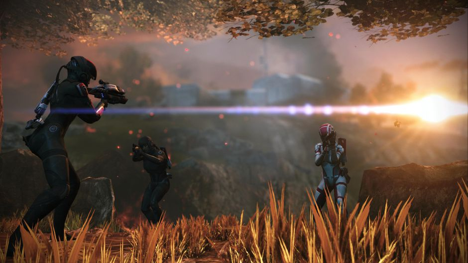 Mass Effect How to Issue Squad Commands