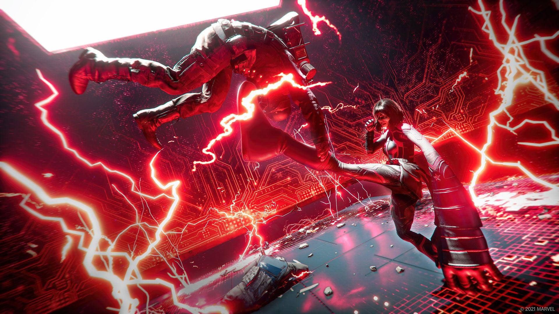 Mavel's Avengers Red Room Takeover