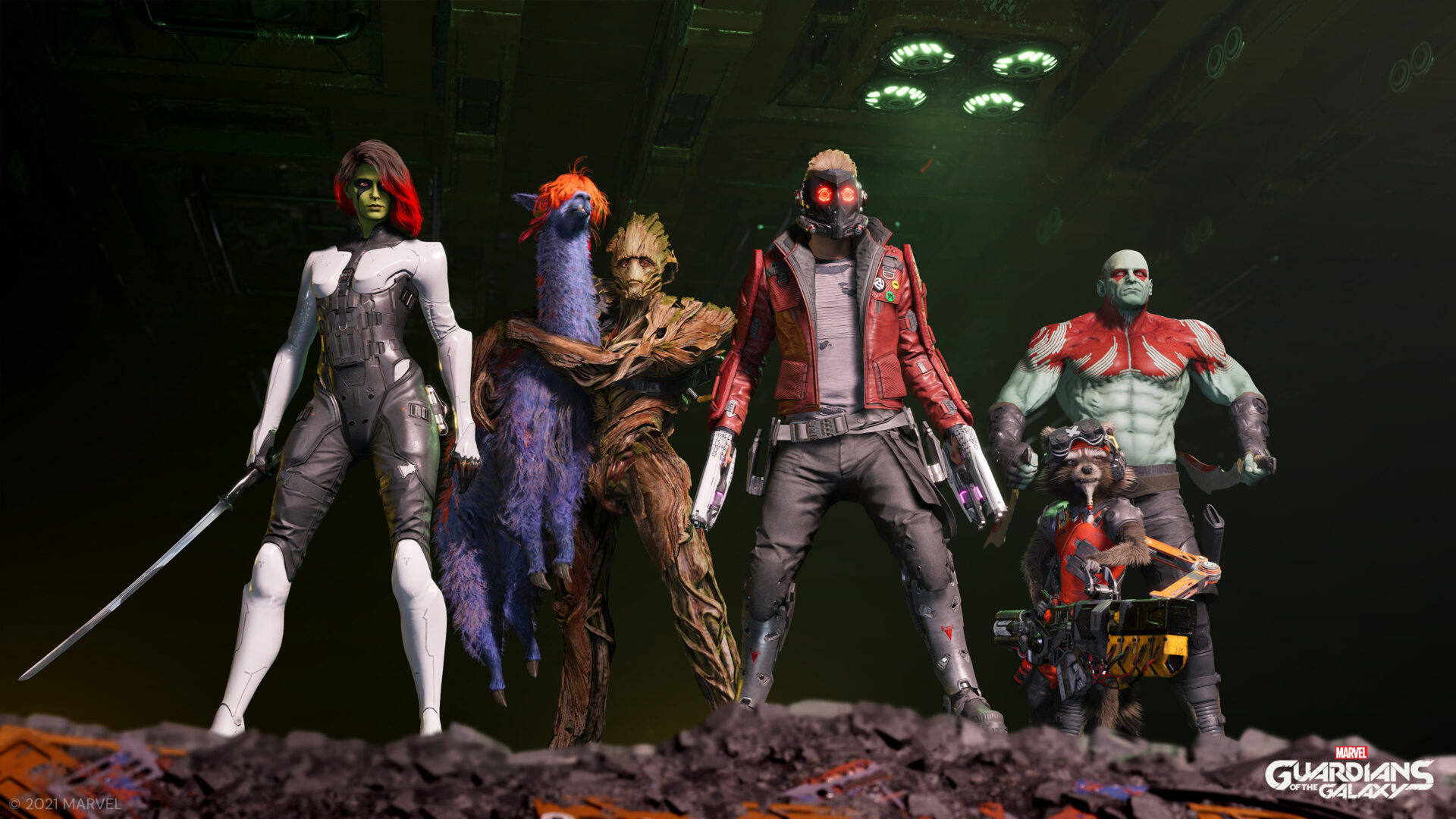 Marvel's Guardians of the Galaxy (3)