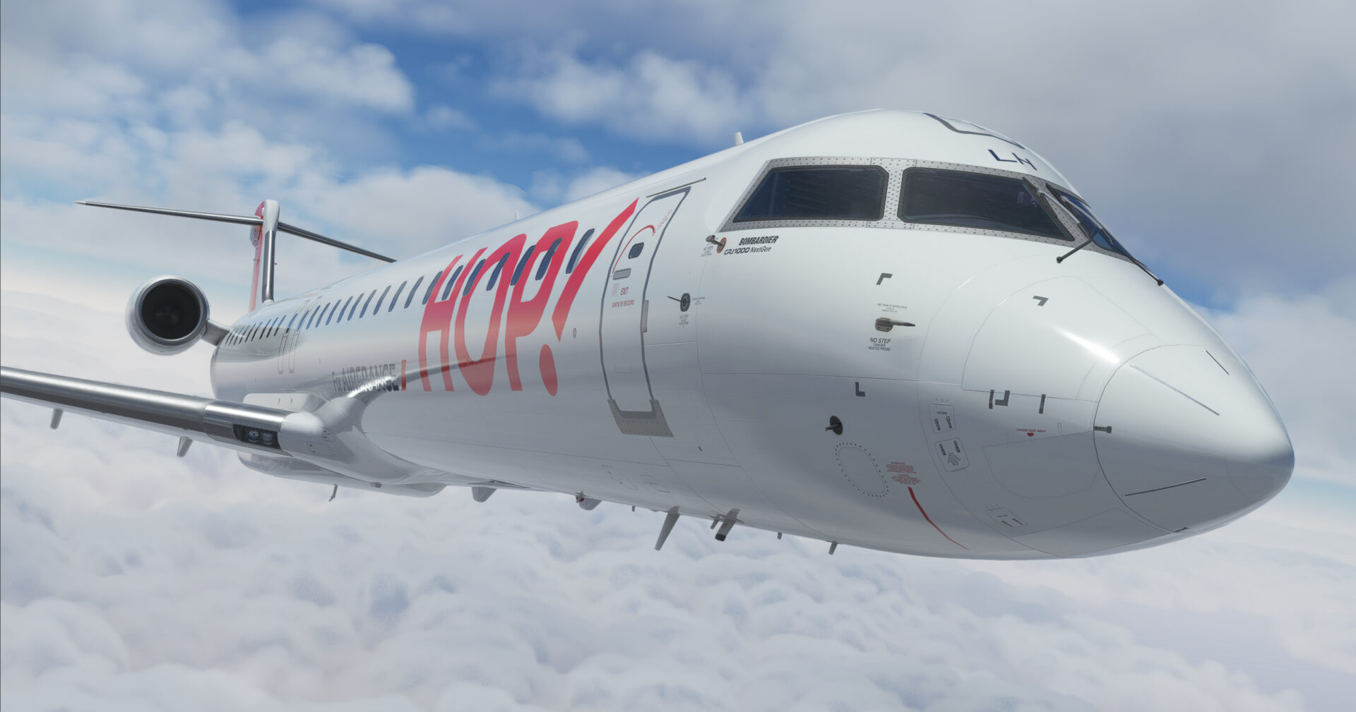 Microsoft Flight Simulator CRJ 1000