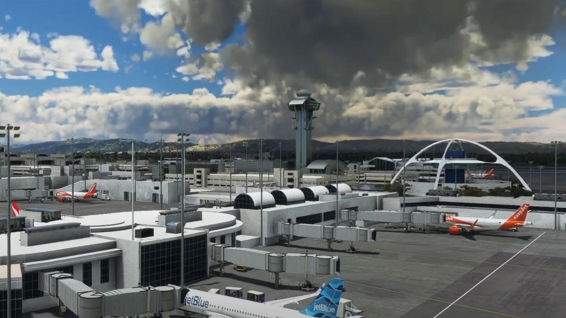Microsoft Flight Simulator Los Angeles