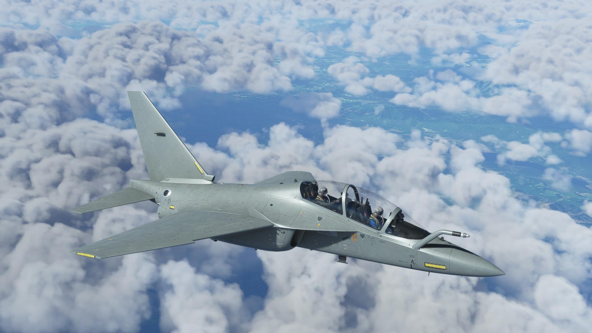 Microsoft Flight Simulator M346