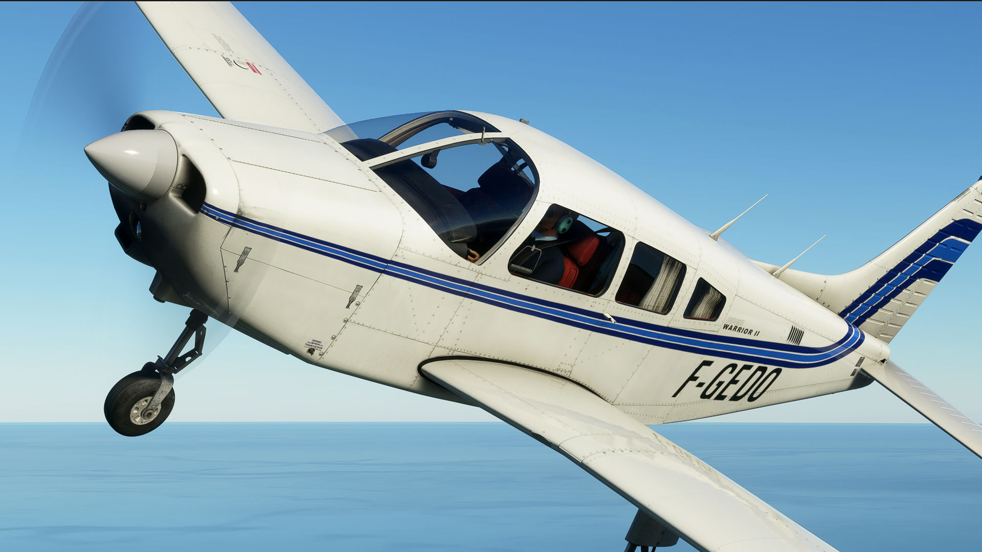 Microsoft Flight Simulator Piper Warrior