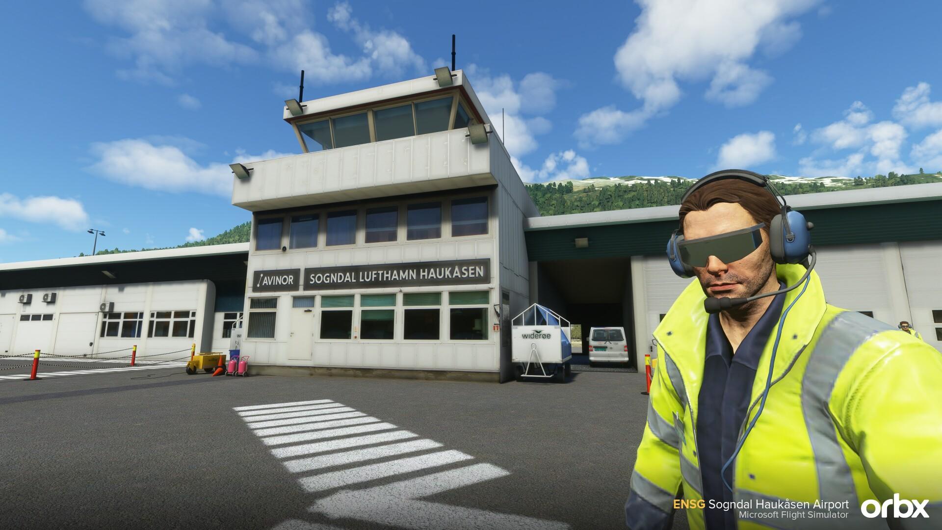 Microsoft Flight Simulator Sogndal