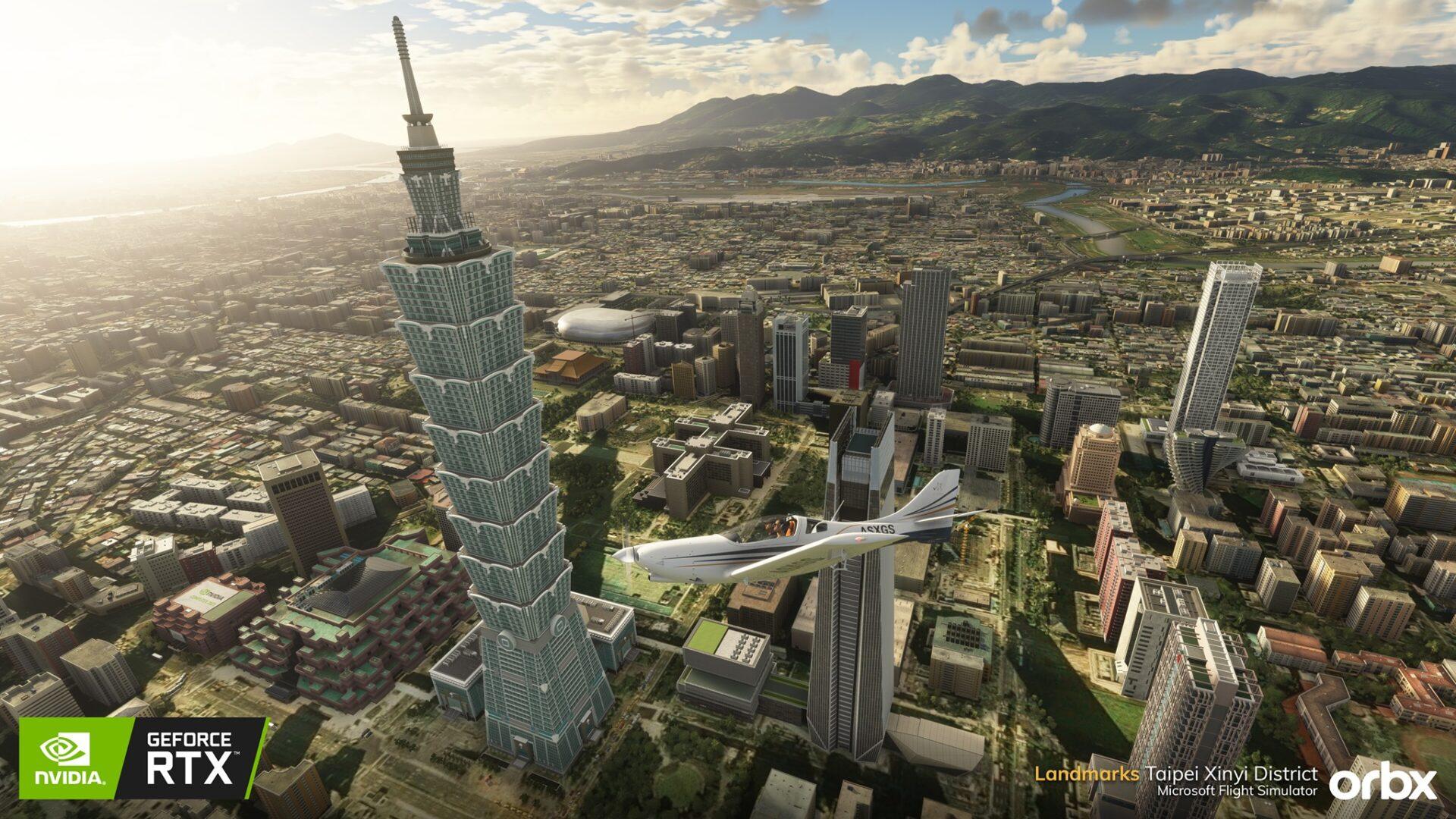 Microsoft Flight Simulator Taipei