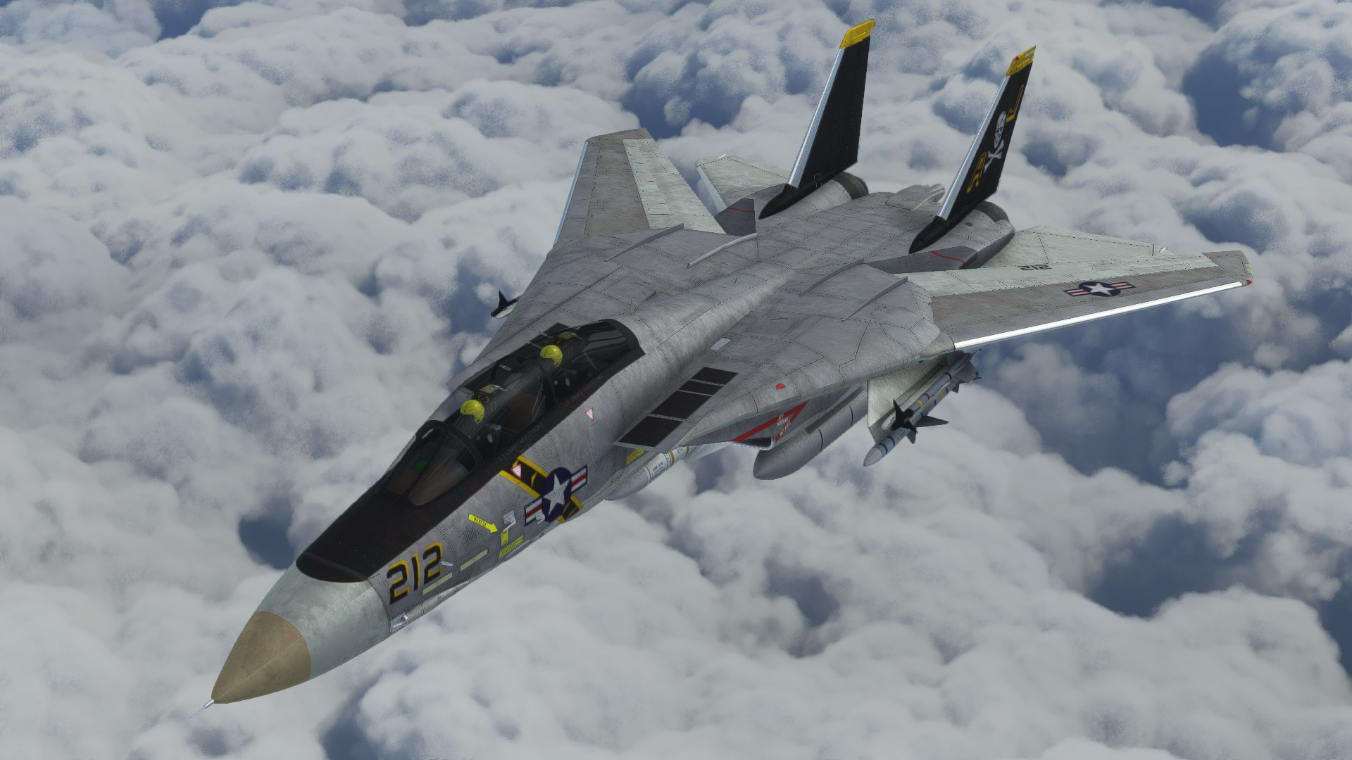 Microsoft Flight Simulator Tomcat
