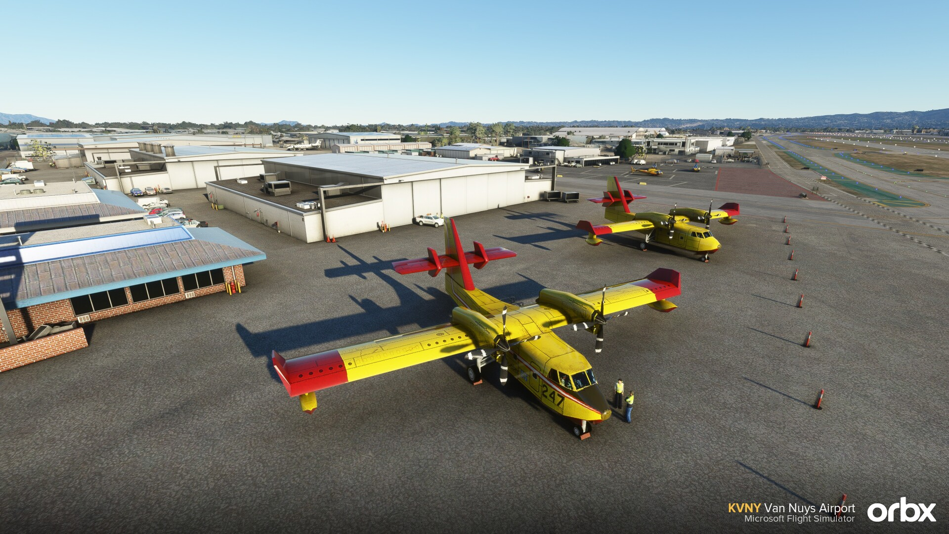 Microsoft Flight Simulator Van Nuys