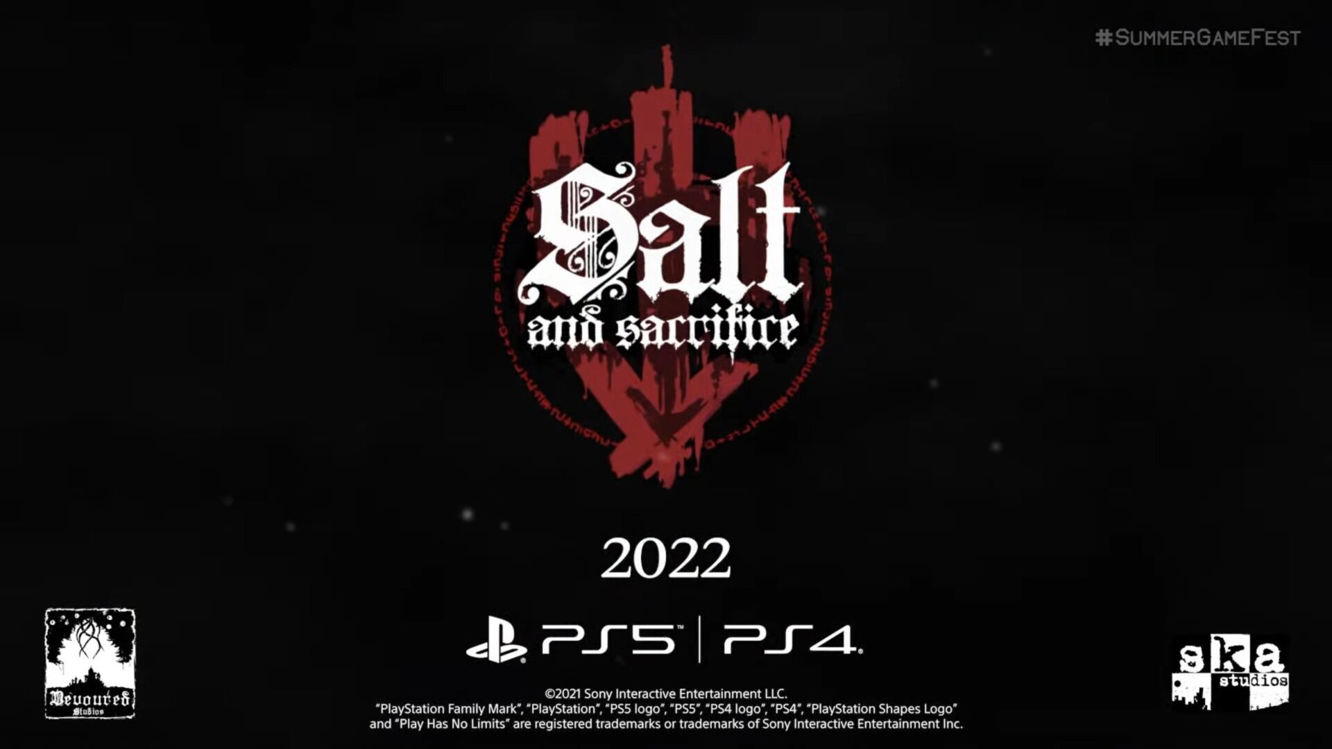 Salt and Sacrfifice