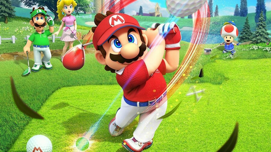 mario golf super rush motion controls