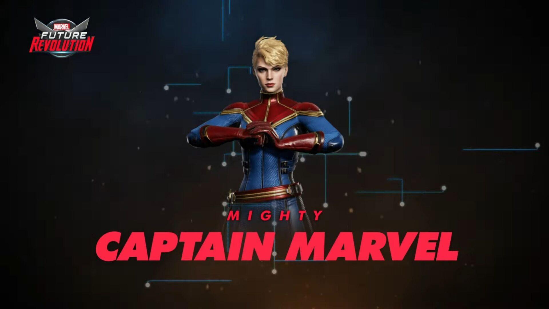 Marvel Future Revolution Captain Marvel