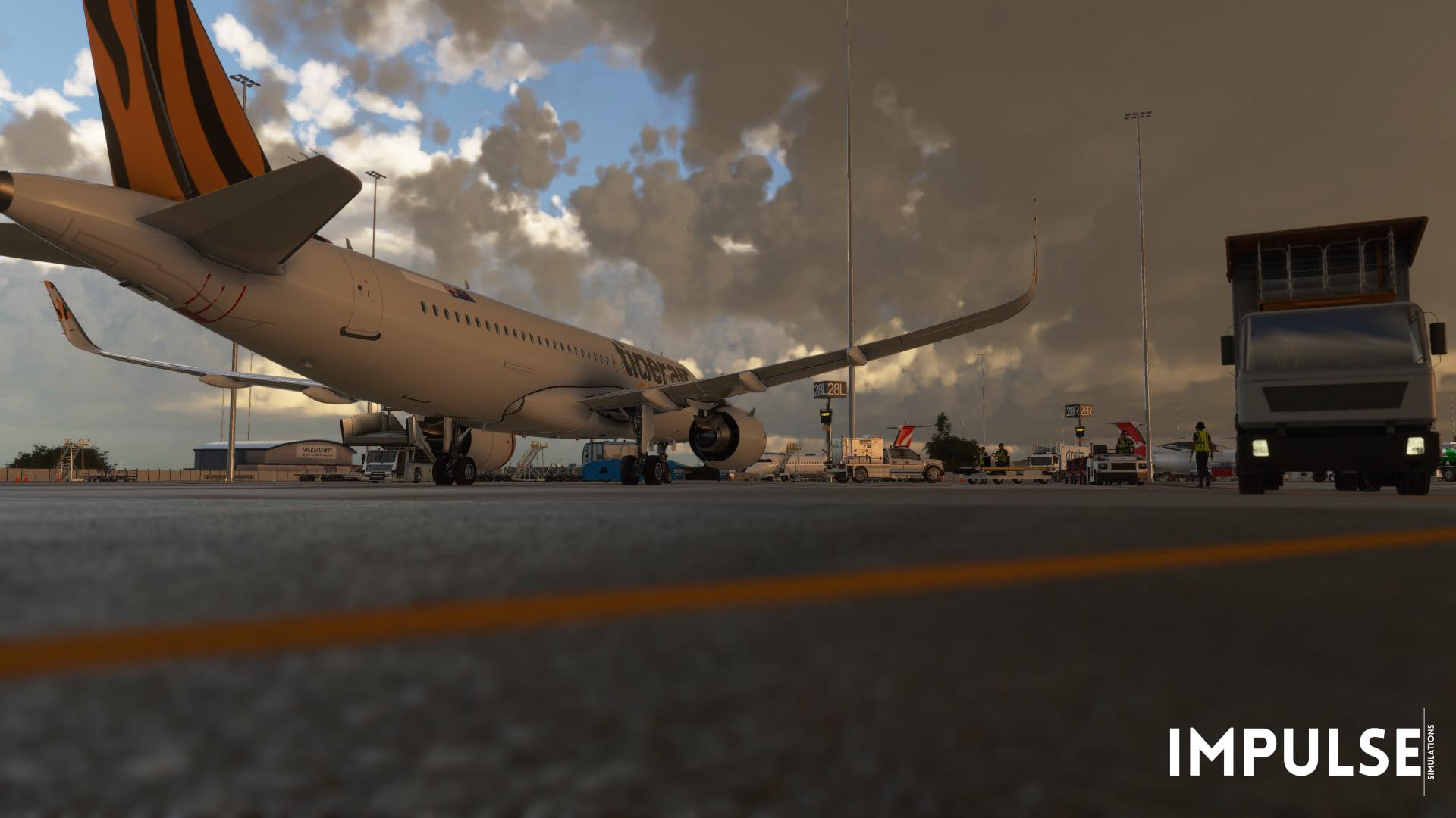 Microsoft Flight Simulator Adelaide