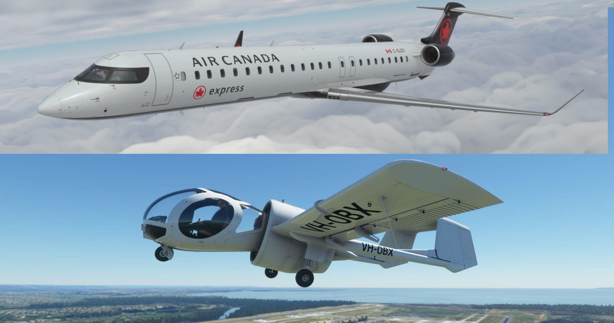 Microsoft Flight Simulator Aerosoft Orbx