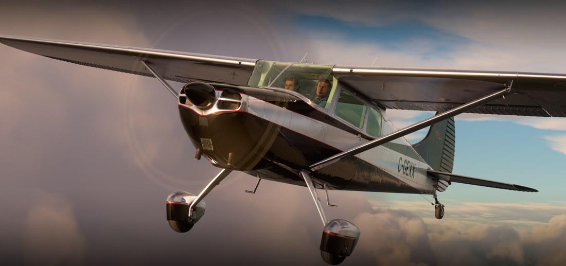 Microsoft Flight Simulator Cessna 170