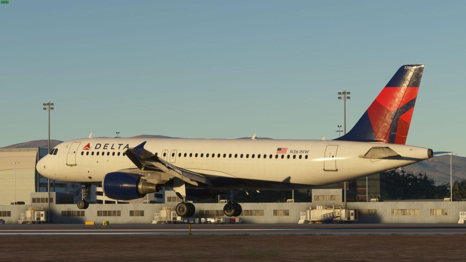 Microsoft Flight Simulator a320