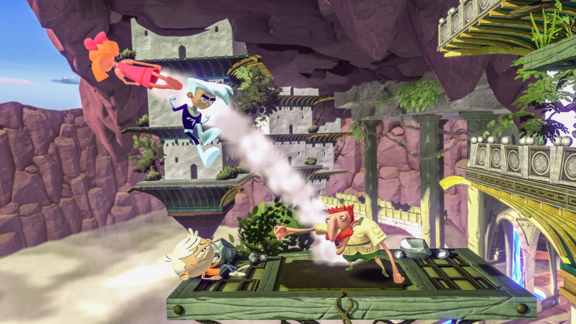 Nickelodeon All-Star Brawl Features Nickelodeon Characters in Smash  Bros-like Game
