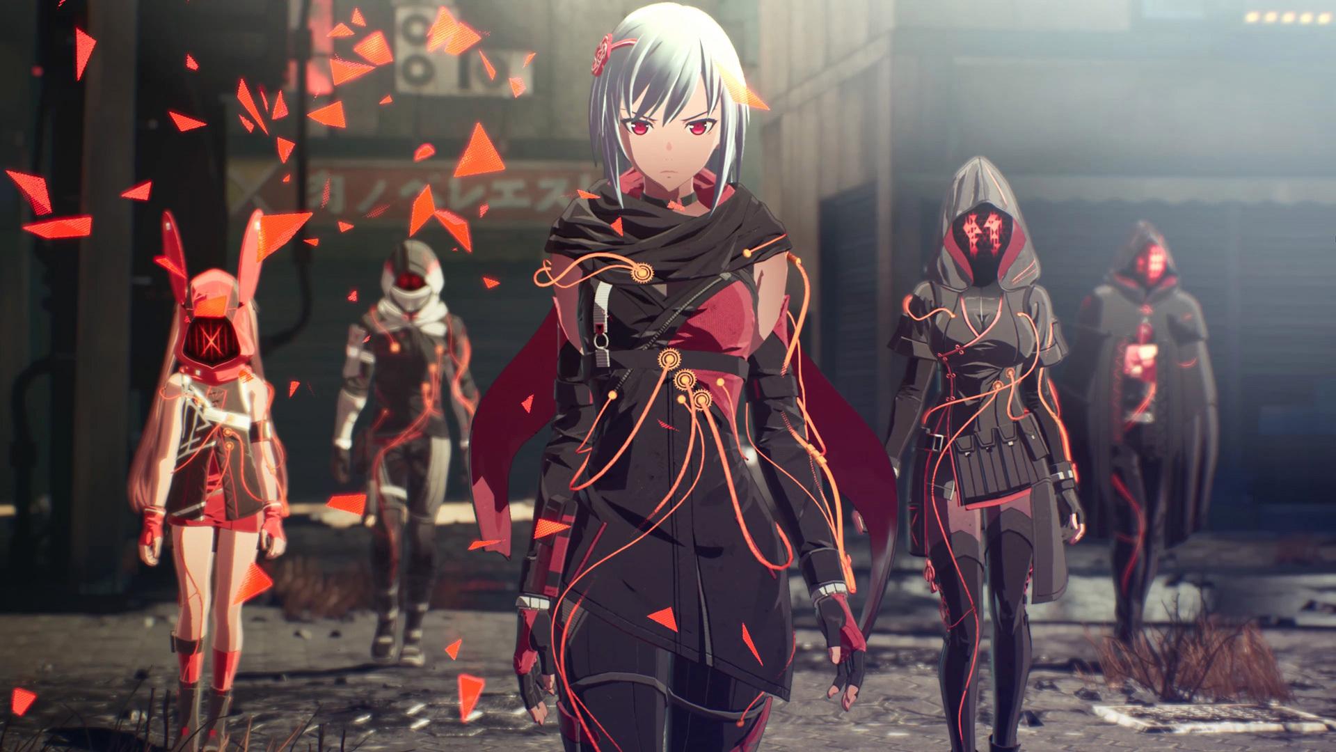 scarlet nexus battle record a