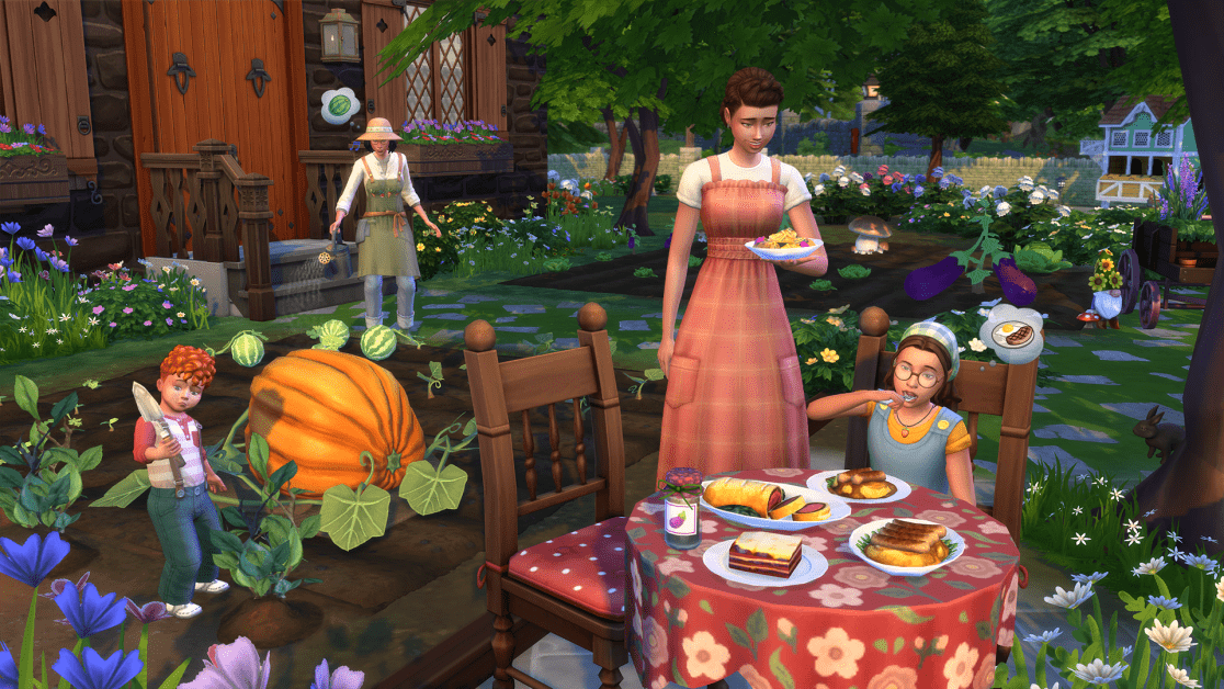 Sims 4 Cottage Living Guide