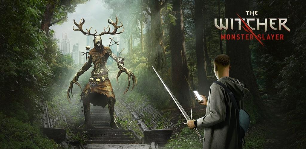 The Witcher Monster Slayer Key Art