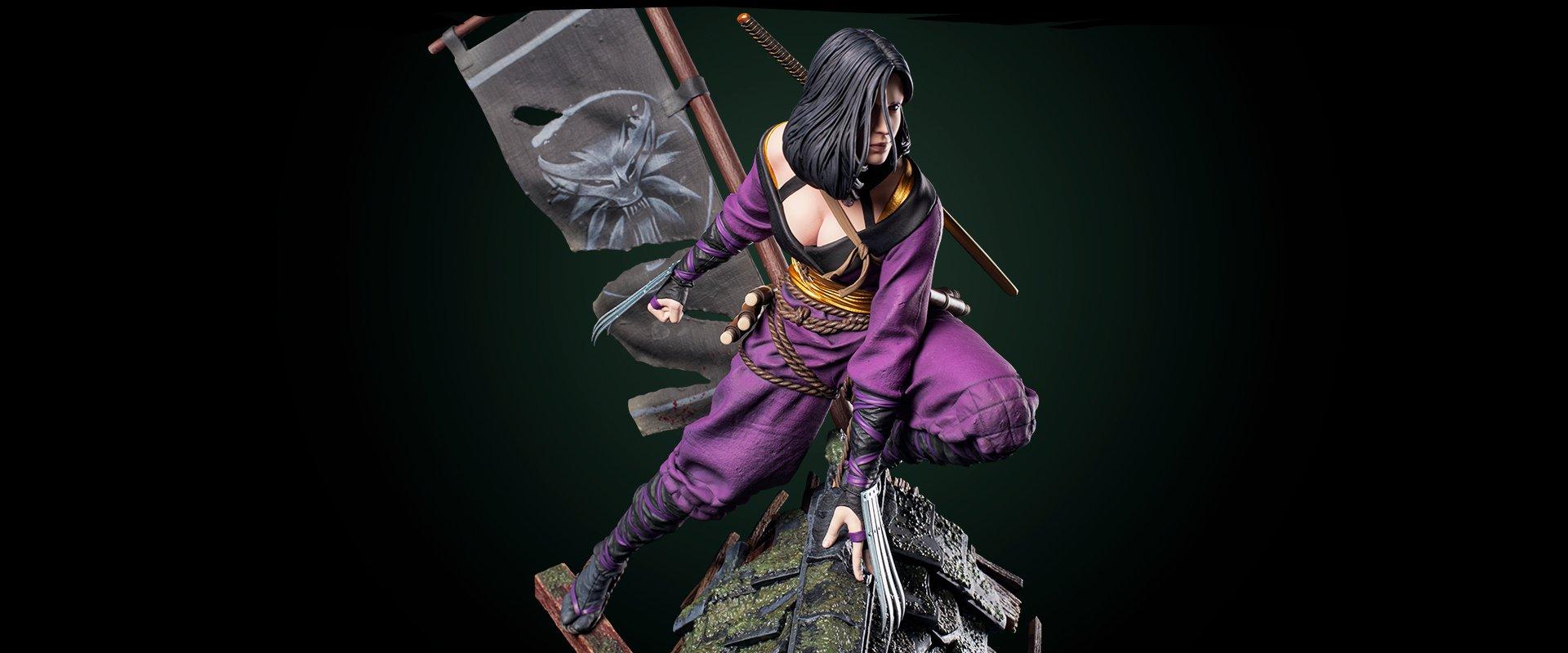 Witcher Yennefer Kunoichi Figure