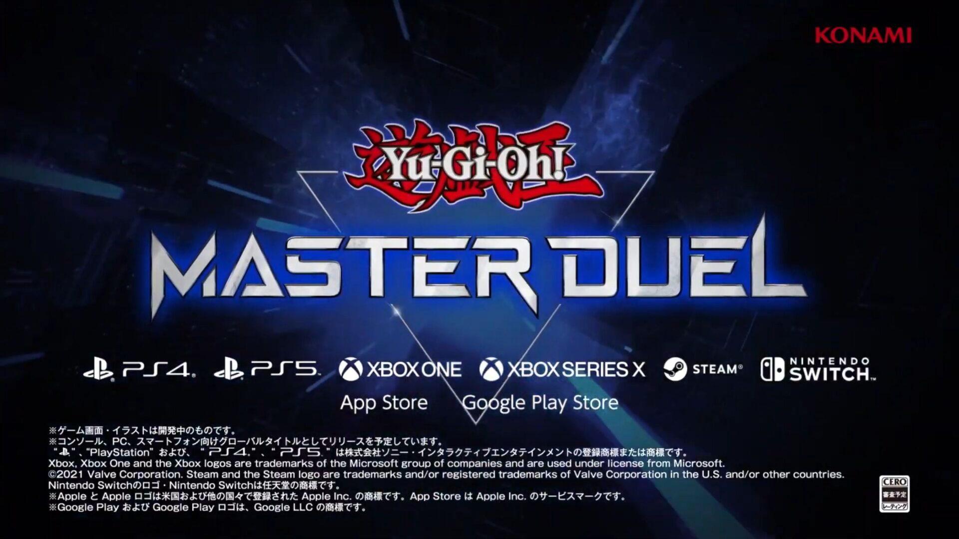 Yu Gi Oh Master Duel