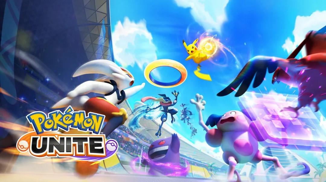 pokemon unite upgrade items