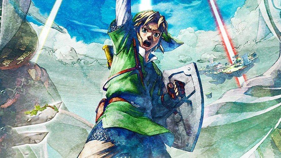 skyward strike, skyward sword HD