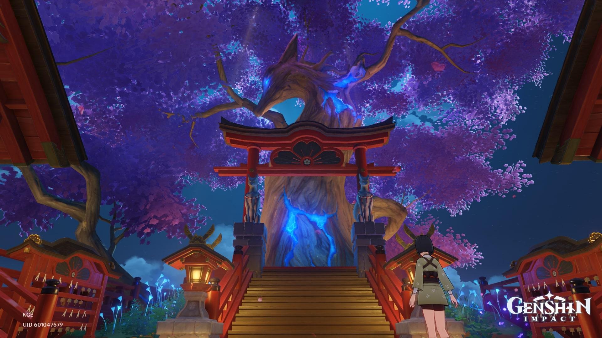 Genshin Impact Sacred Sakura Cleansing Ritual
