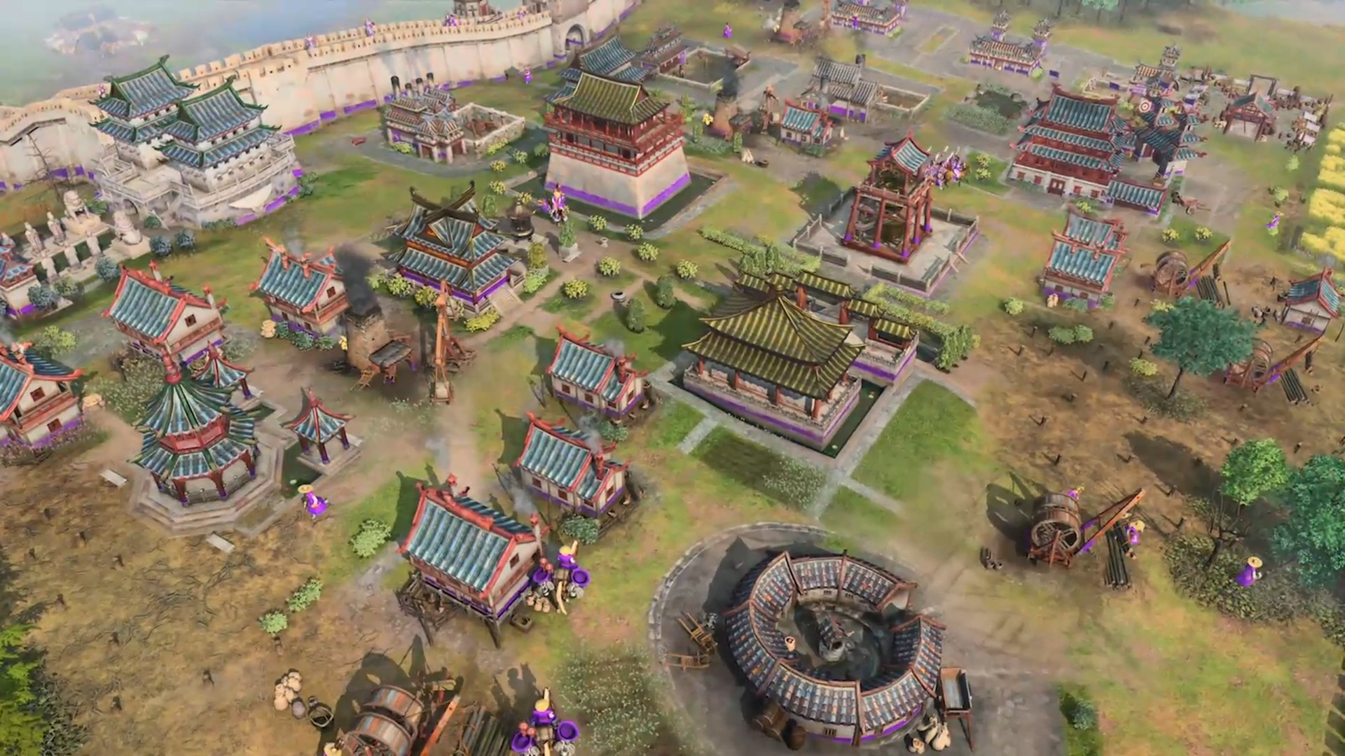City in Age of Empires IV