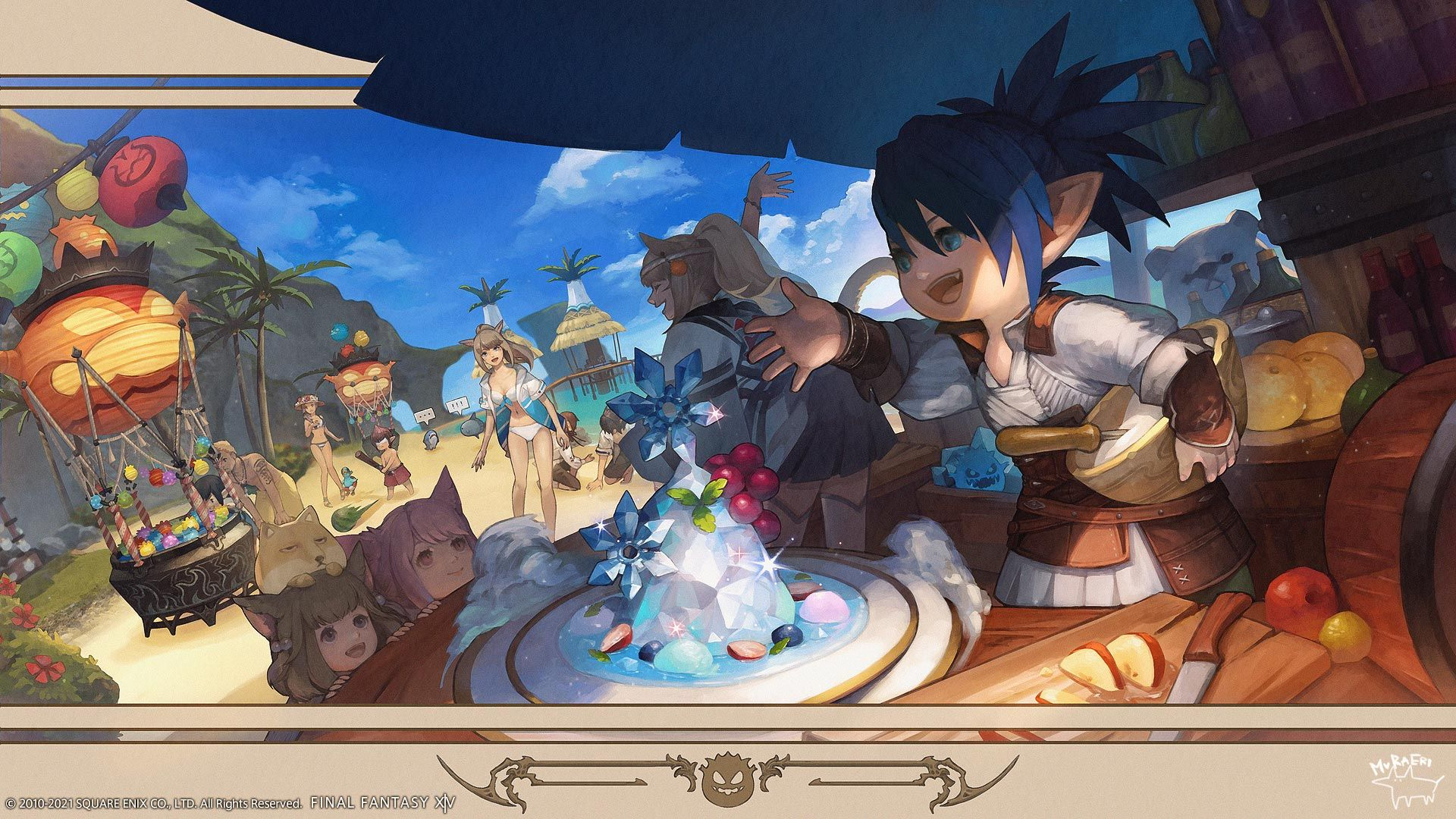 Final Fantasy XIV Moonfire Faire