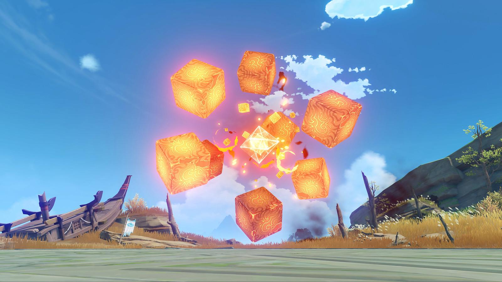 Genshin Impact Pyro Hypostasis
