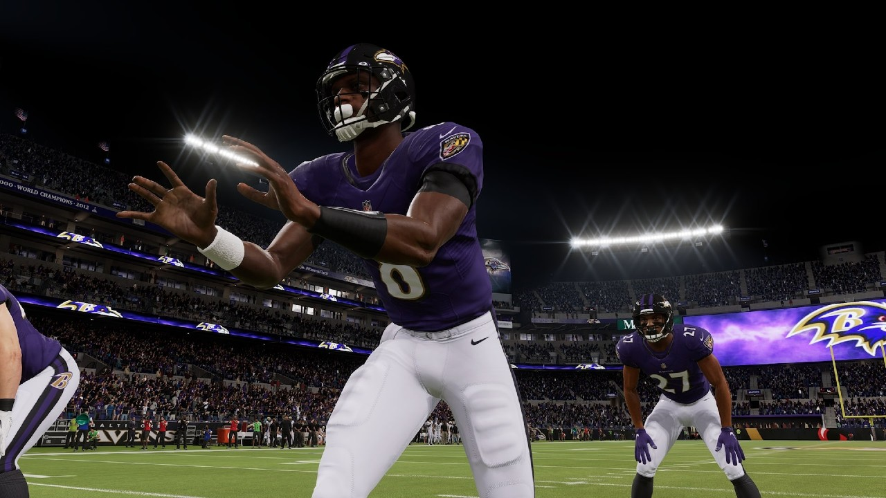 Madden NFL 22: Lamar Jackson