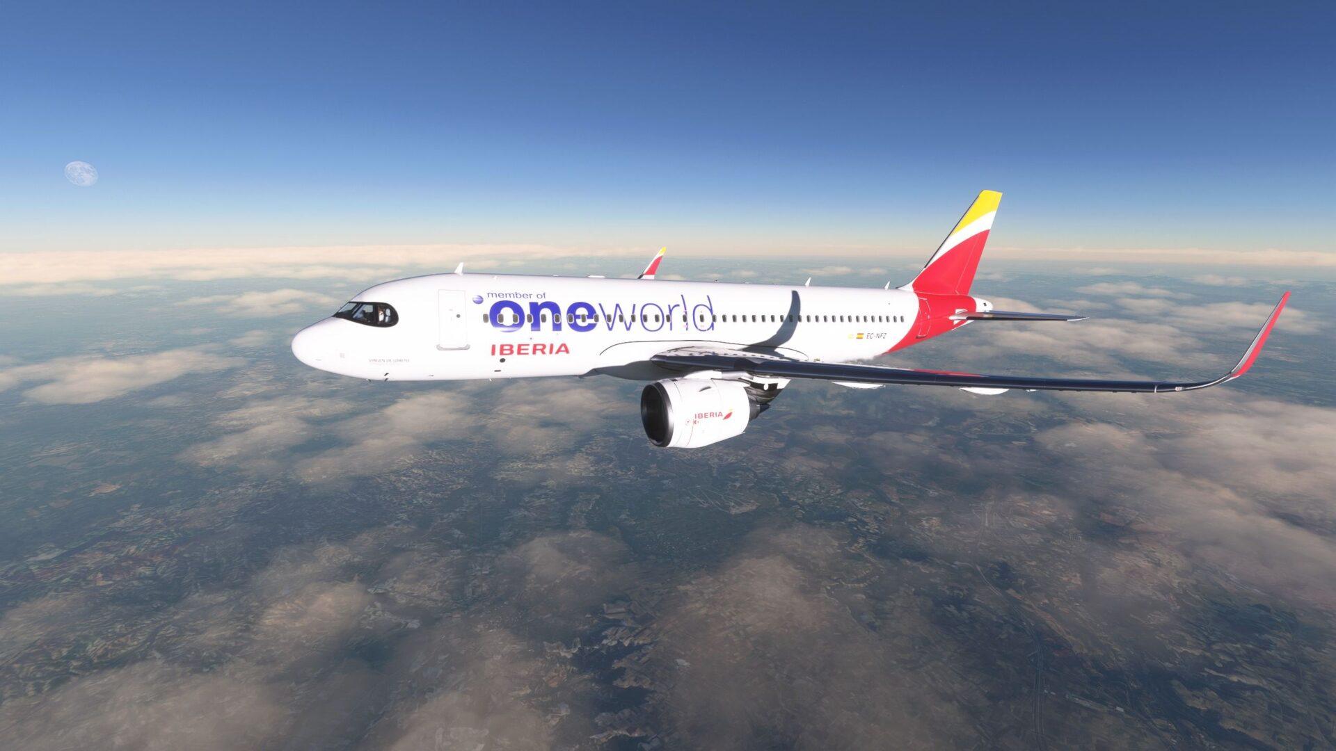 Microsoft Flight Simulator A32NX