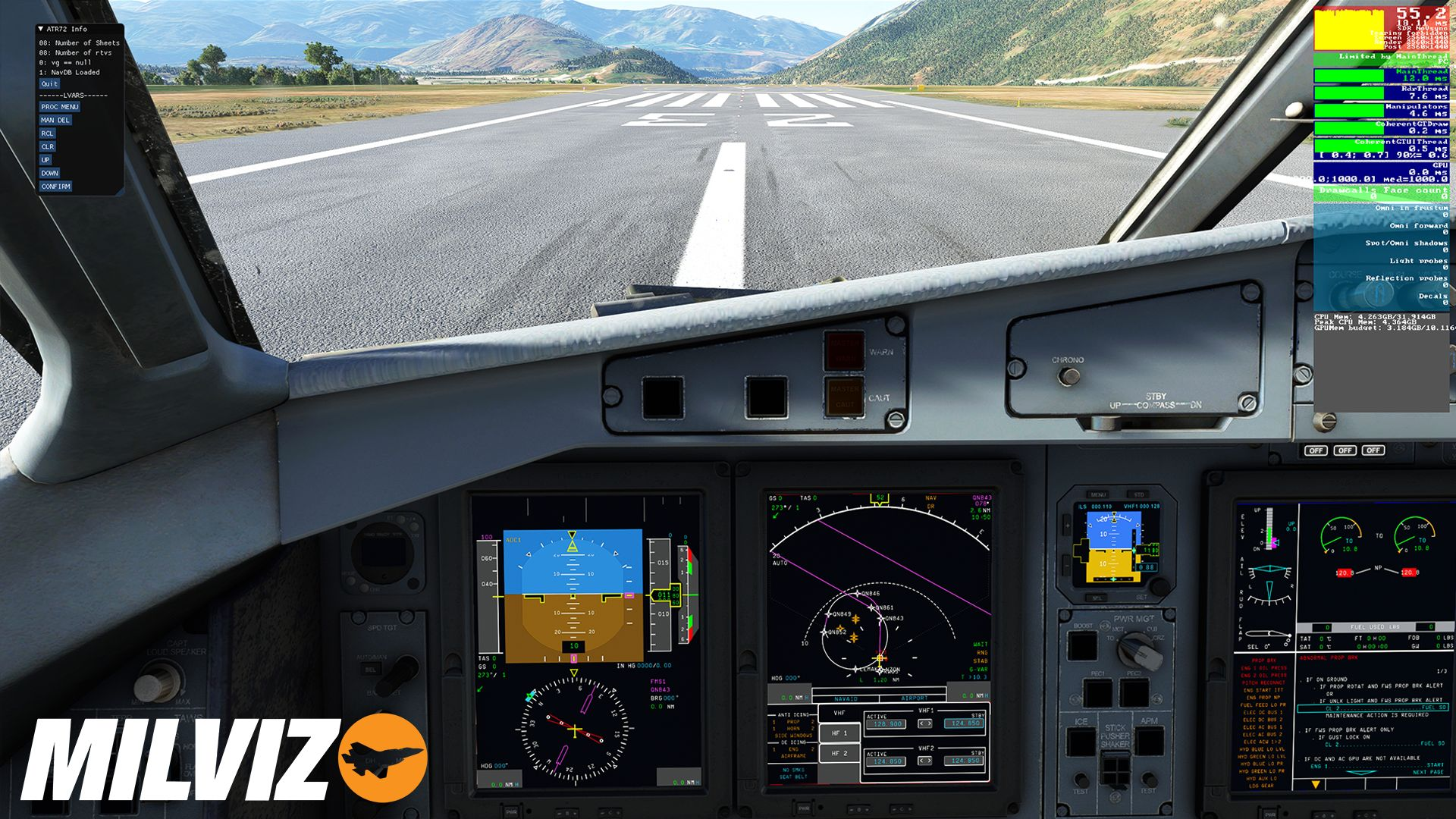 Microsoft Flight Simulator ATR72