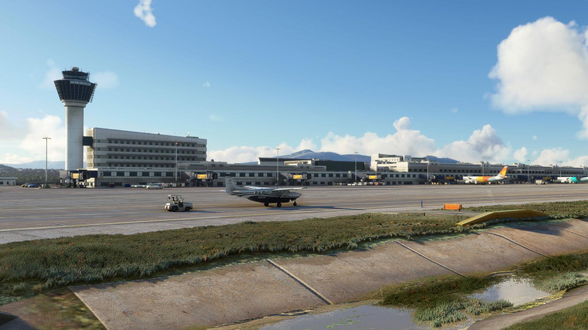 Microsoft Flight Simulator Athens Hero