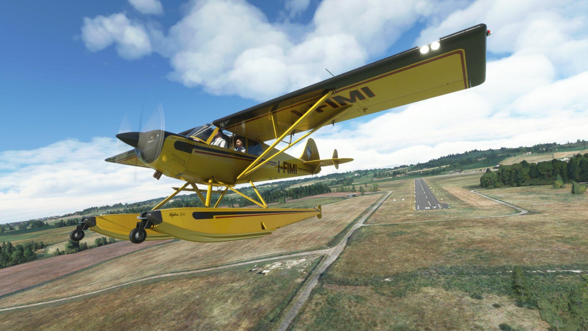 Microsoft Flight Simulator Aviat Husky