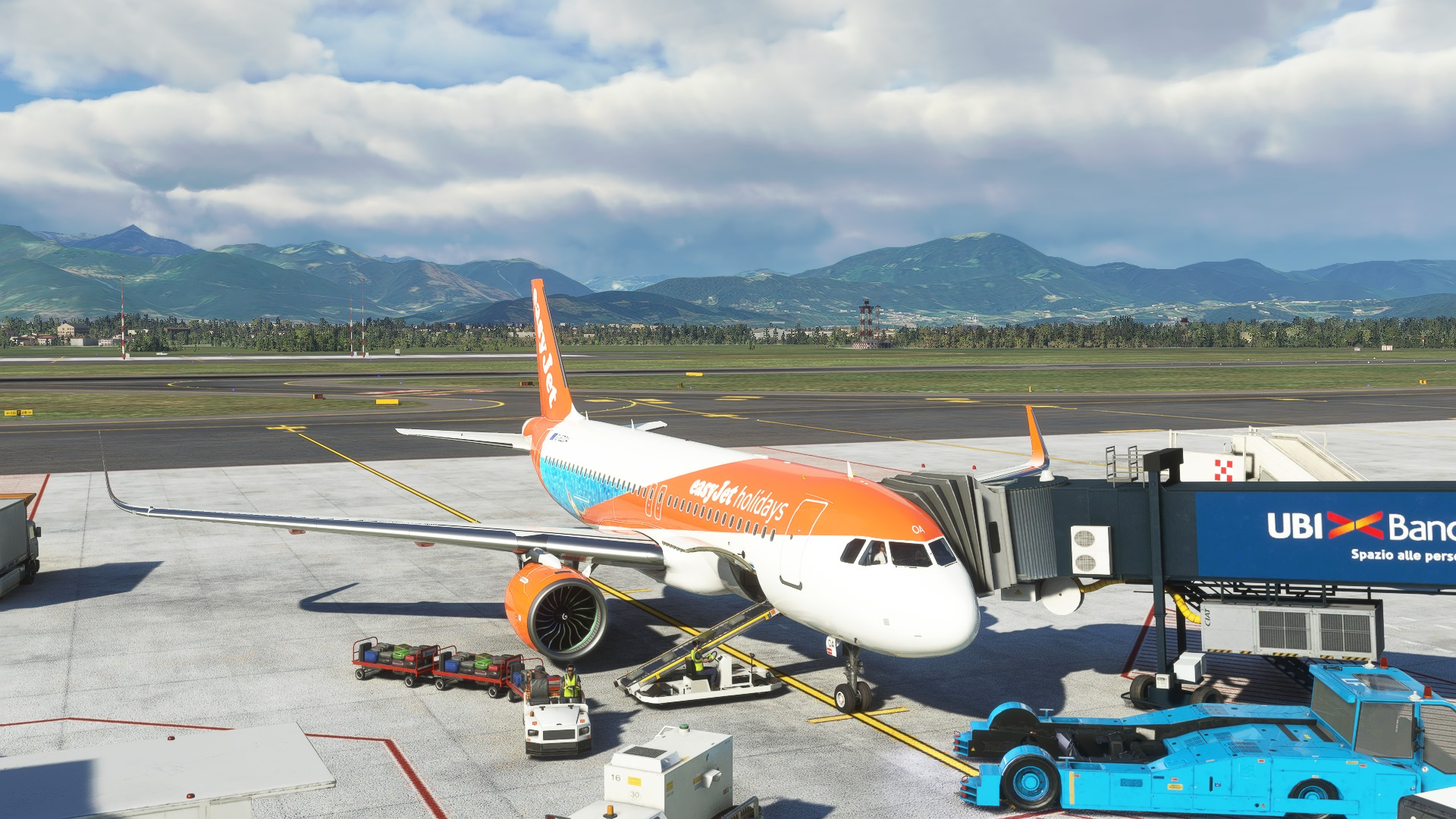 Microsoft Flight Simulator Bergamo