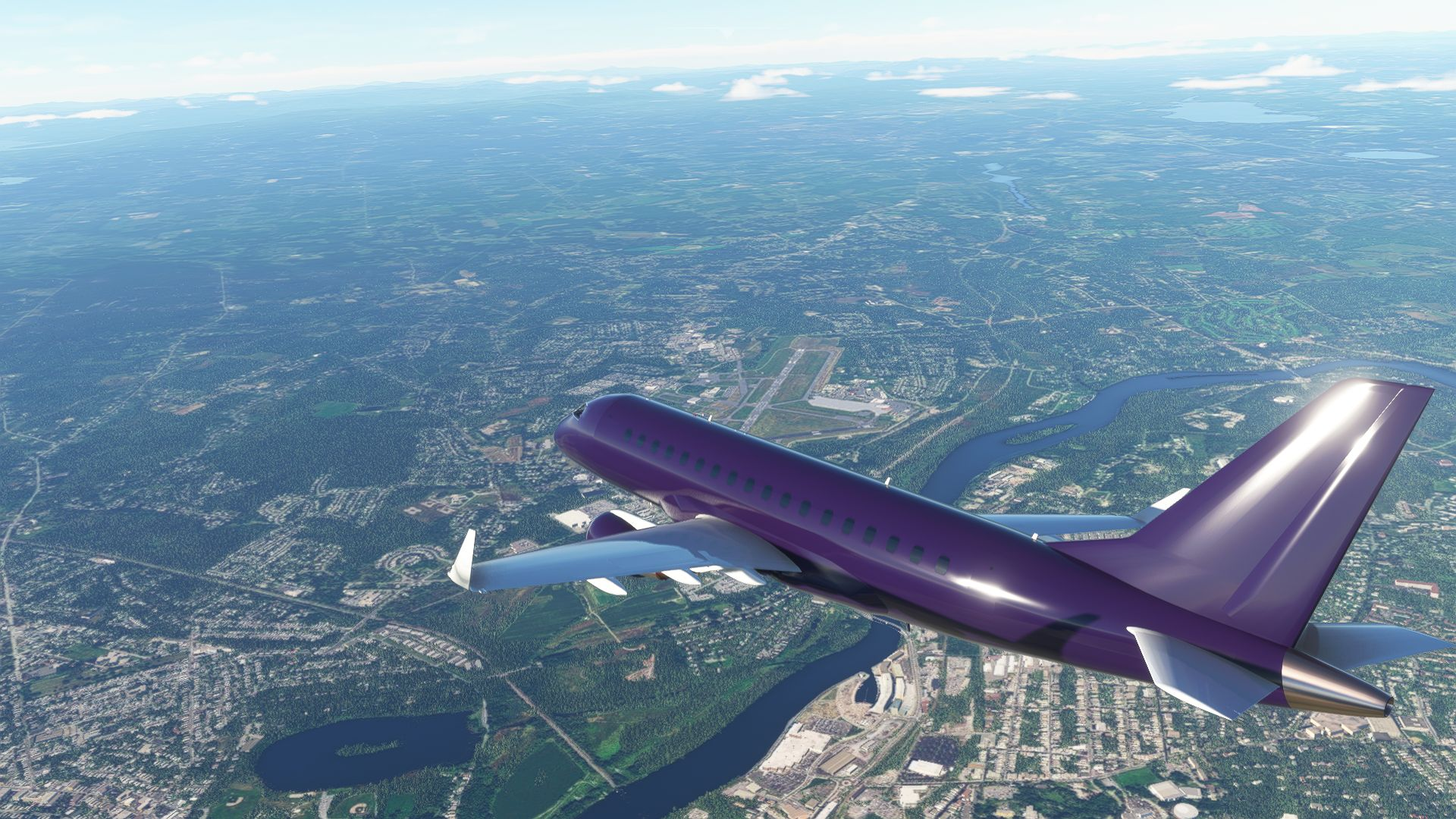 Microsoft Flight Simulator Embraer E170