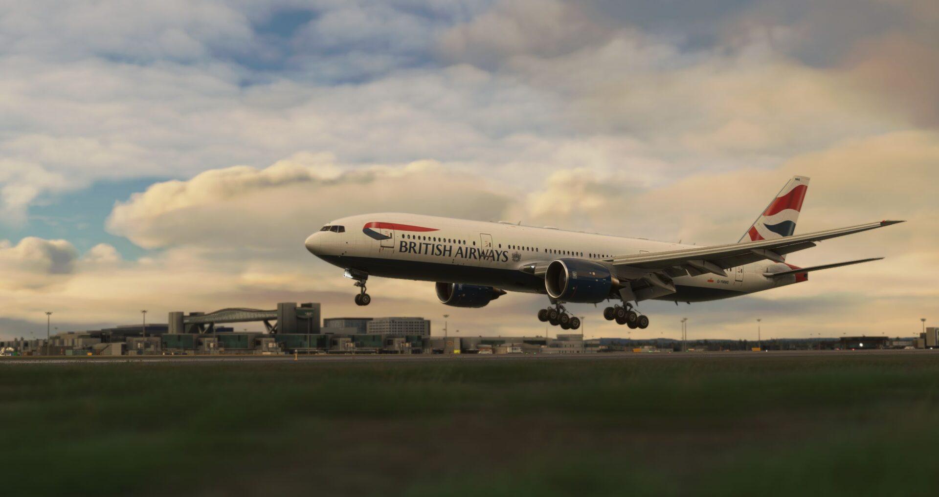 Microsoft Flight Simulator Gatwickj
