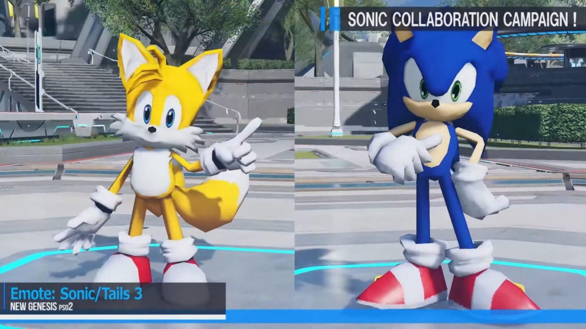 Phantasy Star Online New Genesis Sonic Event