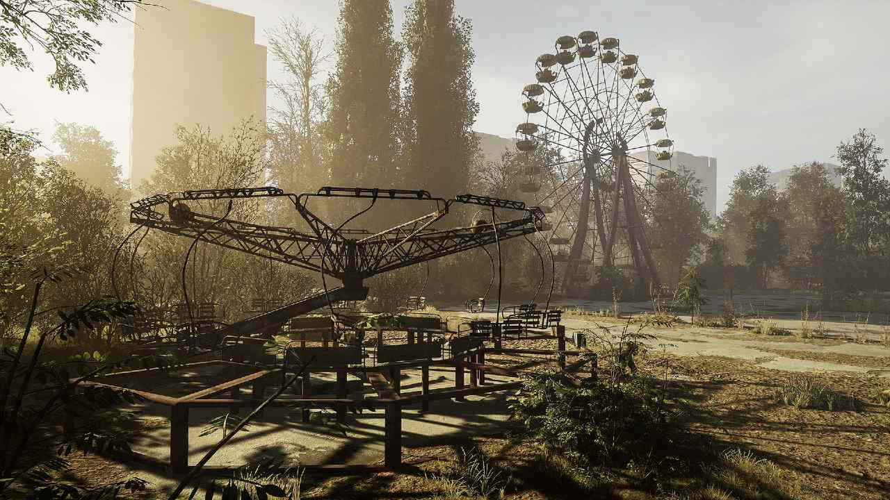 Chernobylite safe