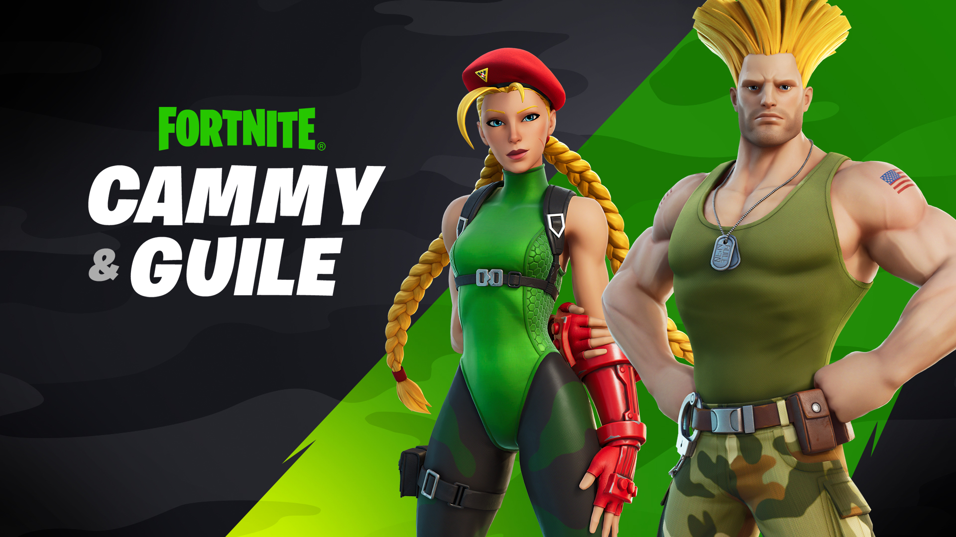 fortnite cammy and guile