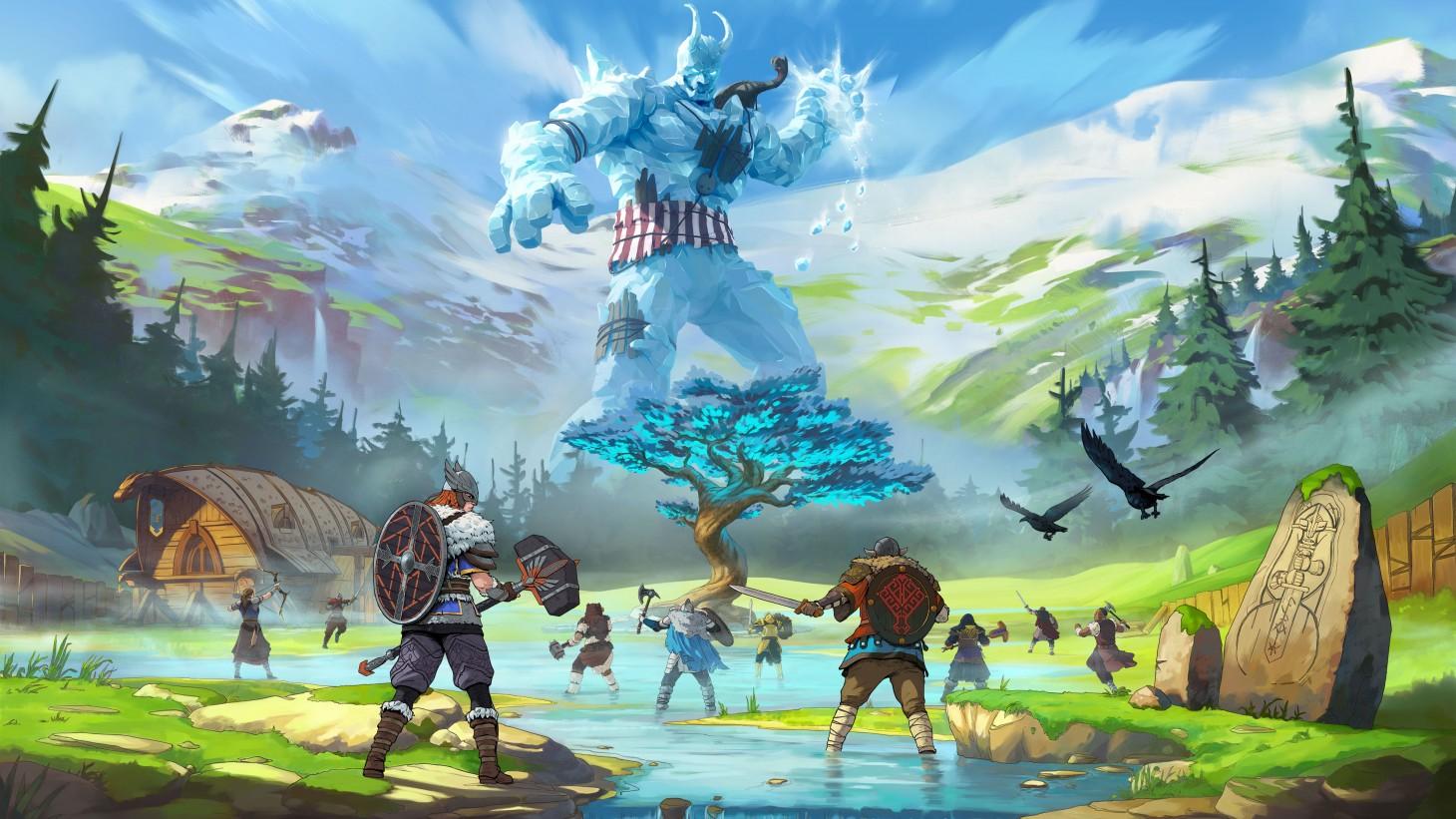 tribes of midgard biomes