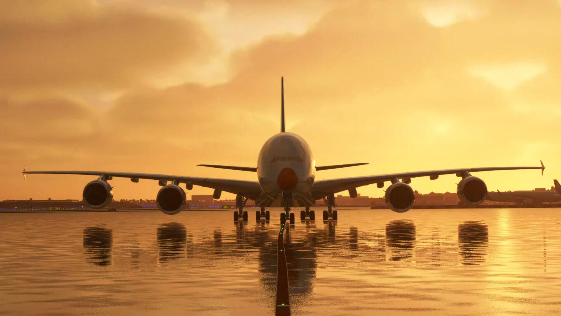 Microsoft Flight Simulator FlyByWire A380