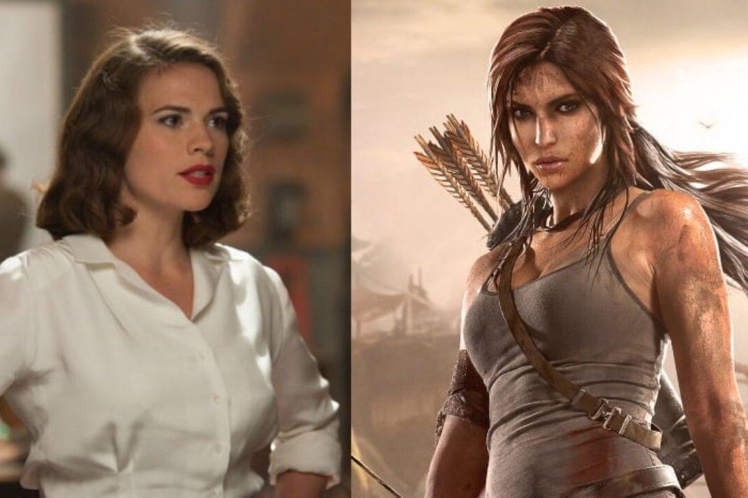 Hayley Atwell Lara Croft