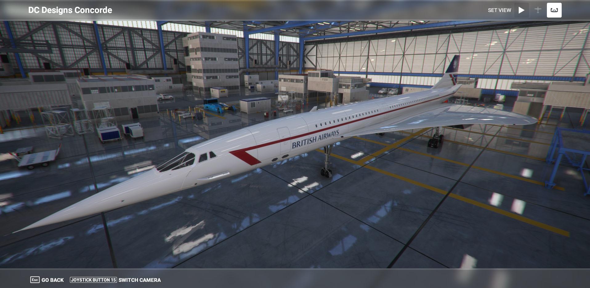 Microsoft Flight Simulator Concorde