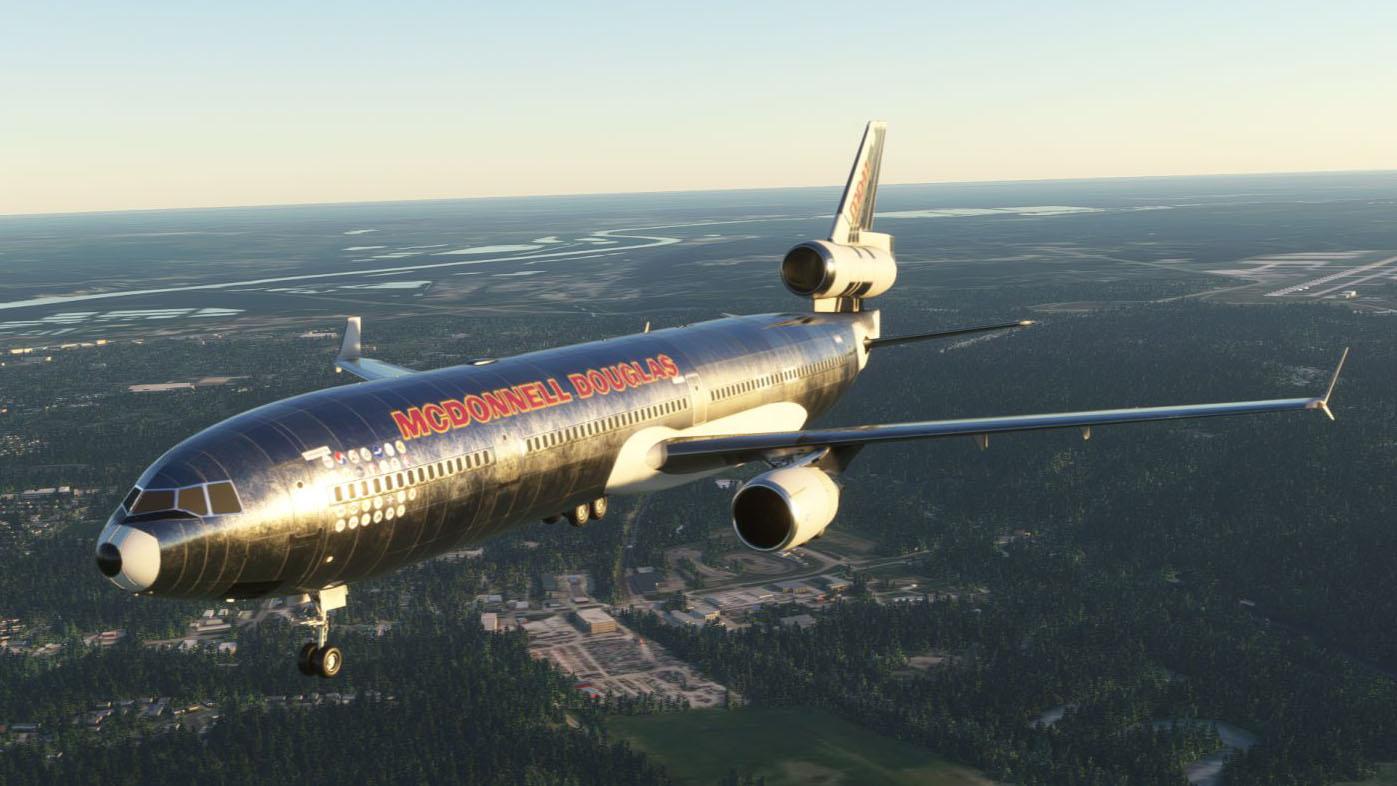 Microsoft Flight Simulator MD11