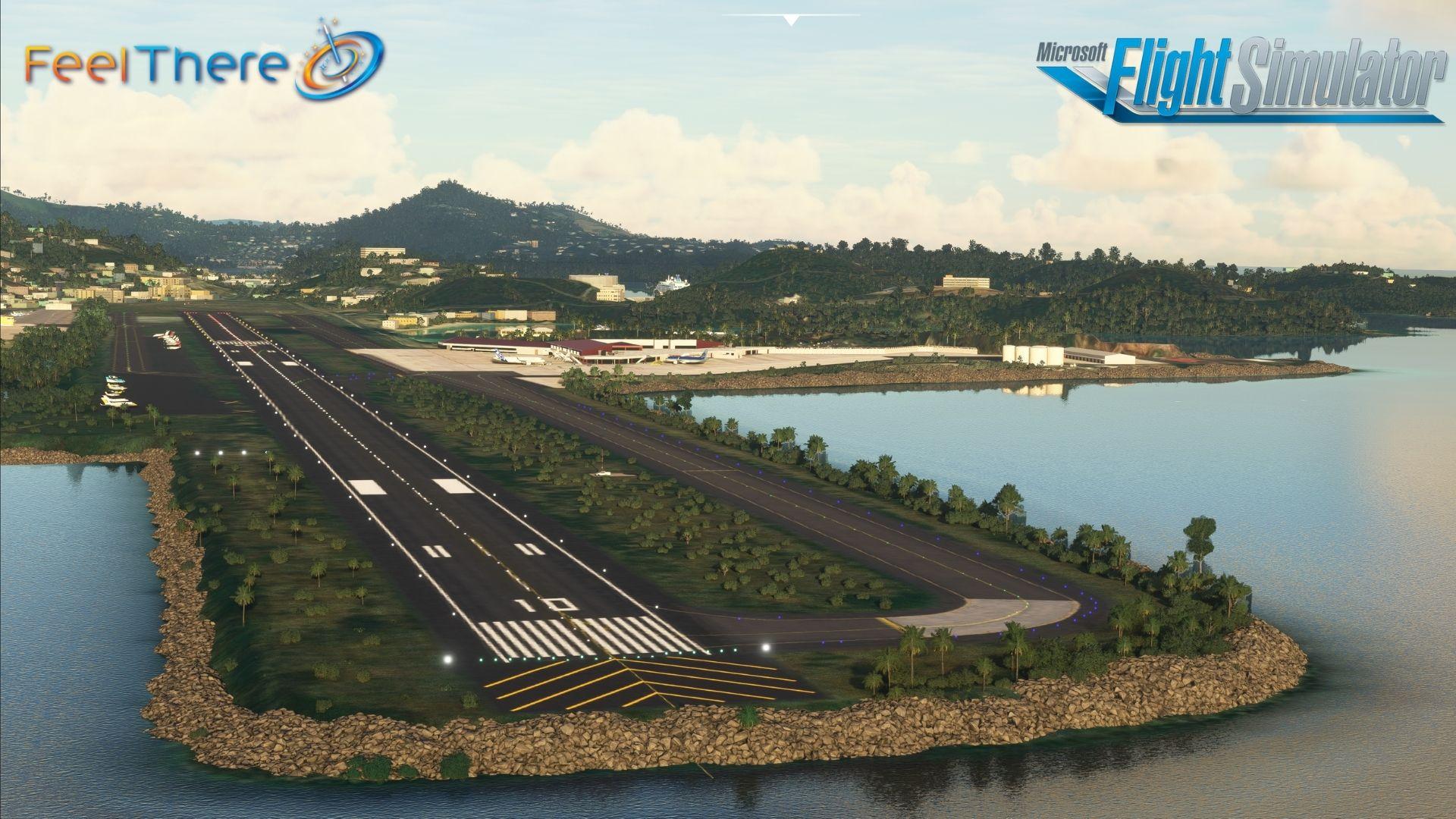 Microsoft Flight Simulator St Thomas