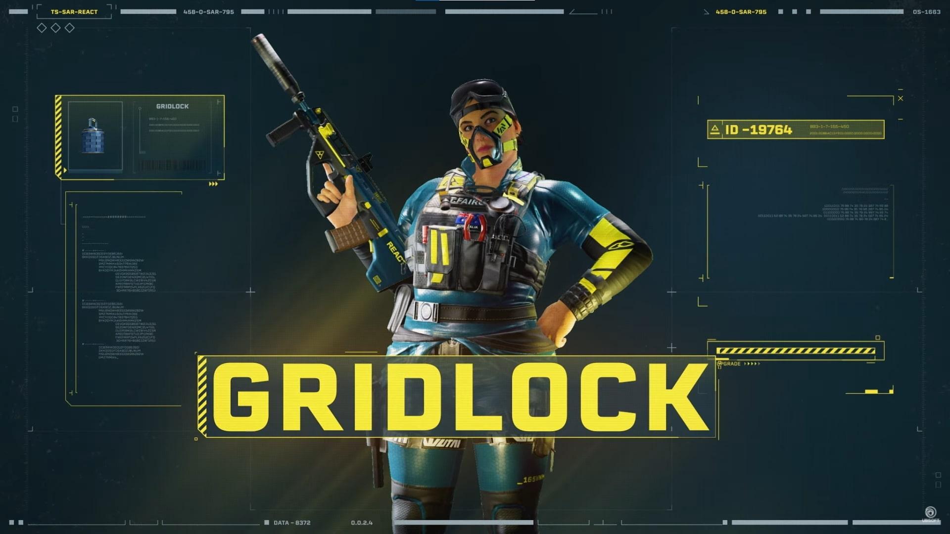 Rainbow Six Extraction Gridlock